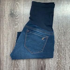 Mavi for Pea in the Pod Cropped Maternity Jeans